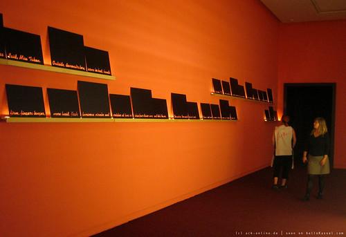 documenta 12 | Mary Kelly / Love Songs: Sisterhood is POW ..., | 2005 | Neue galerie | by A-C-K