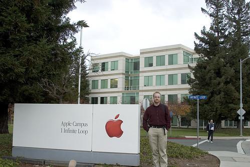 Me @ Apple   by Ben Zvan