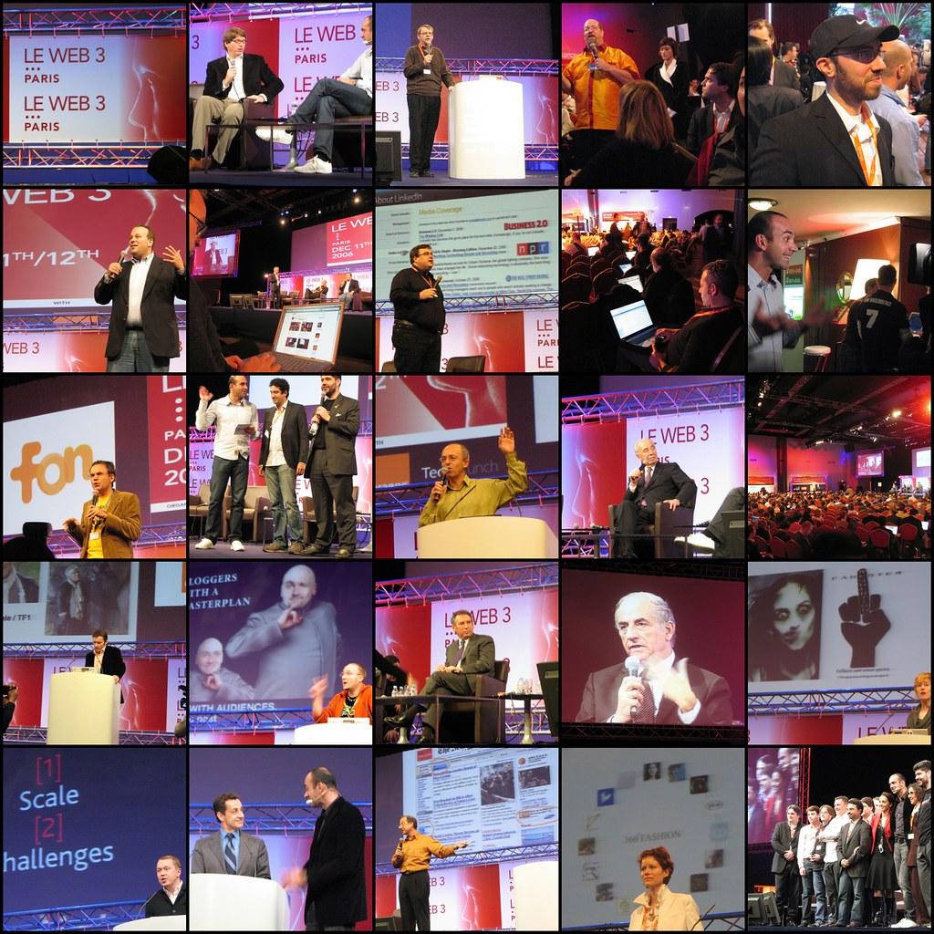 LeWeb3 Conference, Dec 11 & 12, Paris | 1. Logo LeWeb3, 2 ...