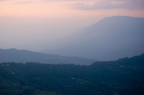 sunset india mountain forest landscape geotagged places uttaranchal sonapani