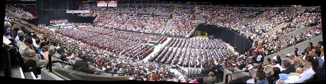 PSU Graduating Class Panorama