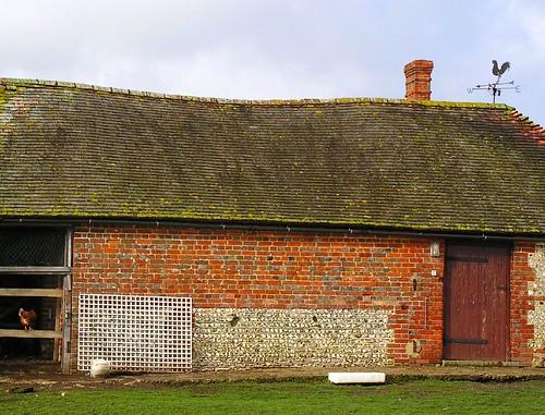 Book 3, Walk 39, Amberley to Pulborough Chicken farm, near Sutton, West Sussex, 11 February 2007