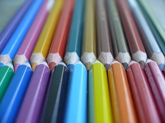 Macro Photography - Colour Pencils