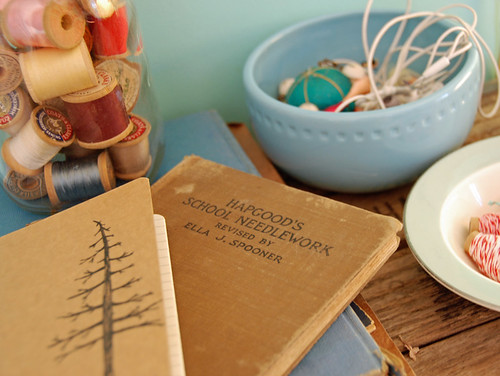 vintage sewing books - love them | by SouleMama