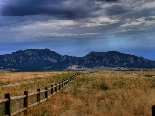 Fenceline to the Rockies | by joiseyshowaa