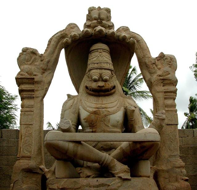 Hampi - Lakshmi Narasimha Temple
