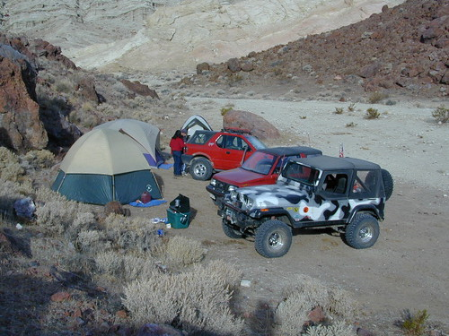 Our Canyon Campsite