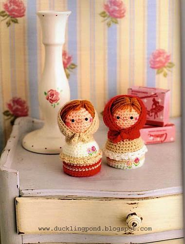 Russian Doll Amigurumi PDF CROCHET PATTERN Matryoshka Babushka   Etsy   500x380
