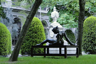 Garden of Museo Reina Sofia - Madrid, Spain | by Adam Jones, Ph.D. - Global Photo Archive