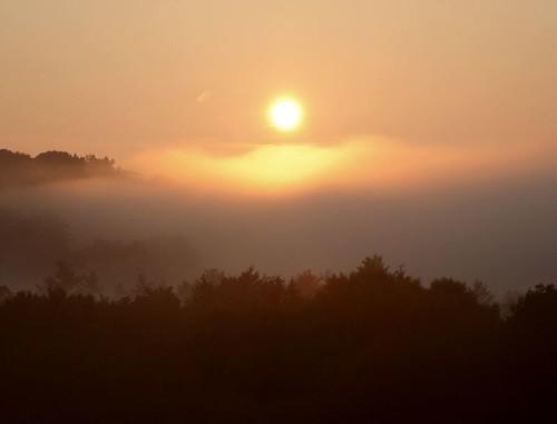 morning sun fog sunrise massachusetts newengland naturesfinest
