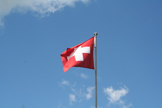 Flag at Metsch Station | by udn