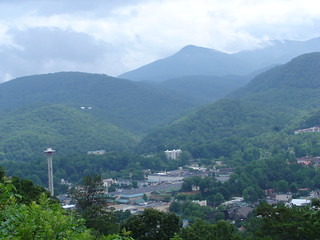 Gatlinburg from Above   by niseag03