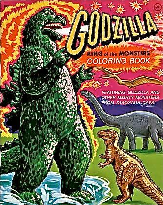 Kickass Godzilla Coloring Book Mike Kelly Flickr