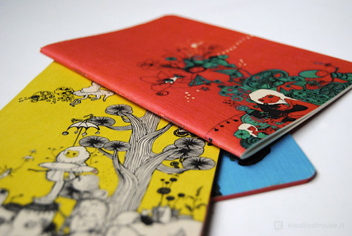 Kreativehouse illustrated notebook   by KreativeHouse