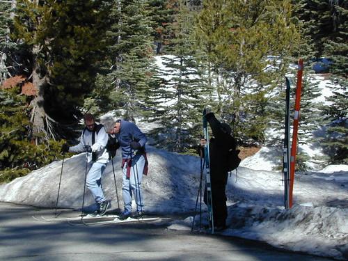 Demonstration XC Ski