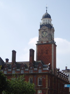 Leicester Town Hall   by stevecadman