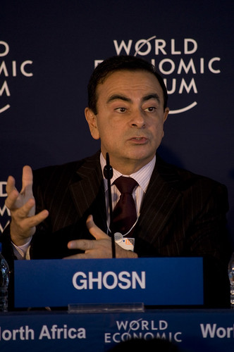 Carlos Ghosn - World Economic Forum on the Middle East 2010 | by World Economic Forum