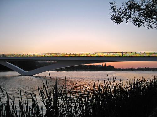 sunset people portugal water river oneofakind bridges coimbra blueribbonwinner supershot mywinners abigfave colorphotoaward jasonstravel
