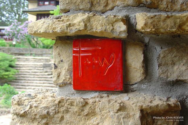 Red Tile at Taliesin, May 2006