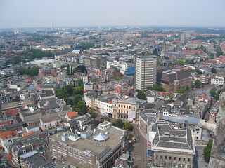 Bird's eye view of Utrecht   by Bernt Rostad