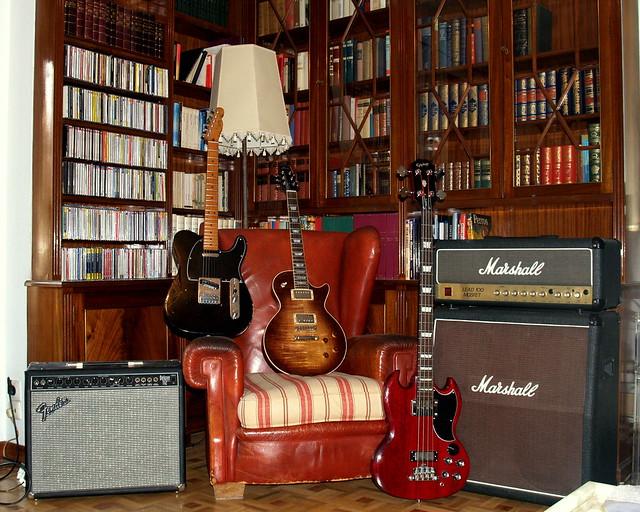 Paula, Telecaster, SG, Marshall & Fender
