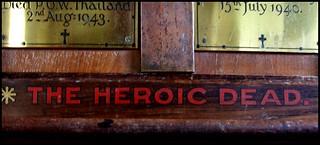 the heroic dead