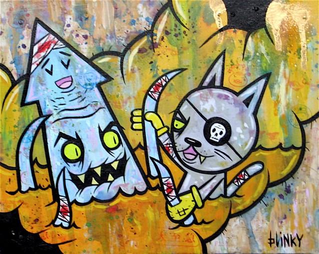 Blinky Squid Vs Pirate Cat Stolen If You Are In