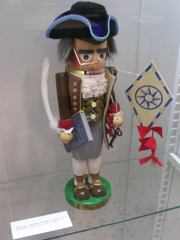 Ben Franklin Masonic nutcracker | this is for Nina | Steven