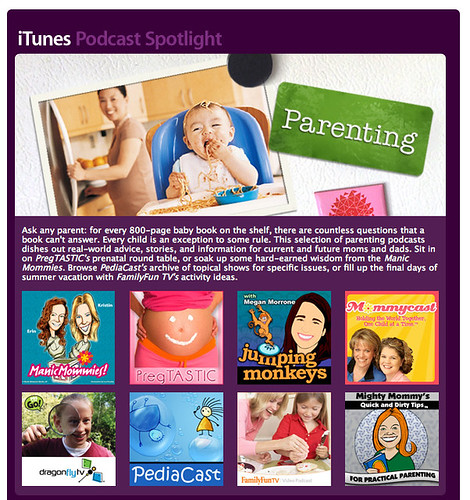 Manic Mommies in iTunes Podcast Spotlight | by Manic Mommies®