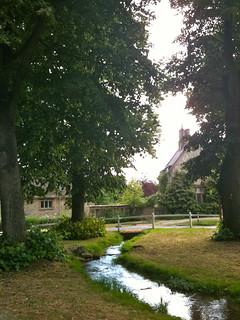 The brook running through Swinbrook Village | by Tip Tours