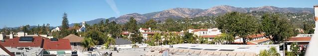 JB090350_11 101109 Santa Barbara  Mountains from top of Granada parking lot ICE p2 stitch