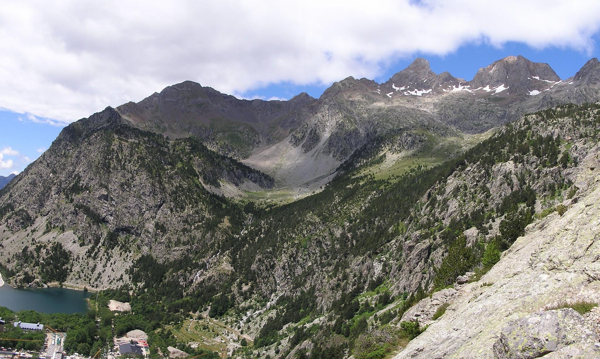 Barranco Argualas a Baños de Panticosa Huesca