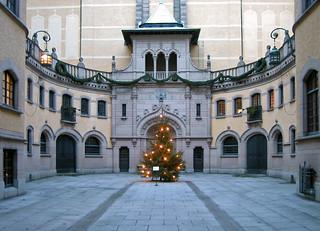 Hallwylska museet at Christmas   by arripay