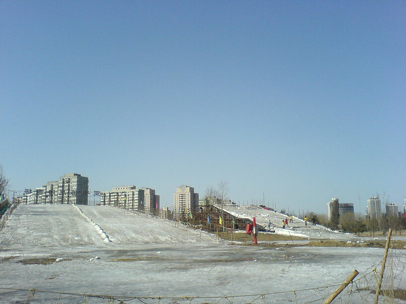 hitting the slopes @ chaoyang int'l festival