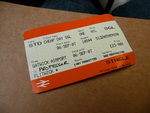 Ticket to Flitwick | by tagwen