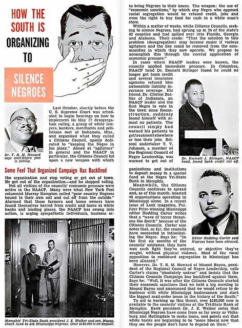 How the South is Organizing To Silence Negroes - Jet Magazine, March 24, 1955