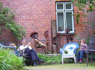 "invitation to the ""Kunstkreis (art-circle) Eutin""... (self-timer)"