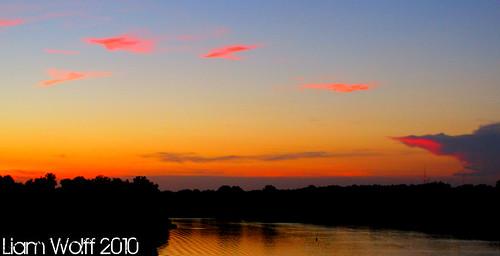 sunset georgia southcarolina augusta aiken