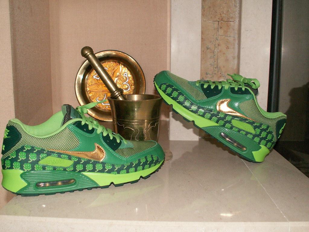 occidental Fortaleza favorito  Nike Air Max 90 St Patrick's Day   Muguet &Co   Flickr