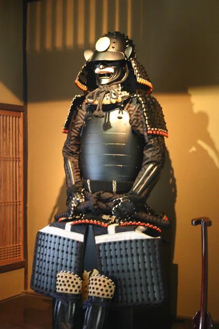 Samurai - Samurai armor at a martial arts store. Tokyo, Japan, 2007.