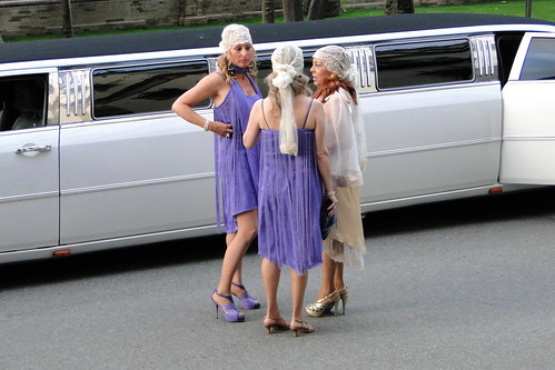 Swanky Ladies and Limousine outside Hotel Alfonso XIII - Seville, Spain | by Adam Jones, Ph.D. - Global Photo Archive