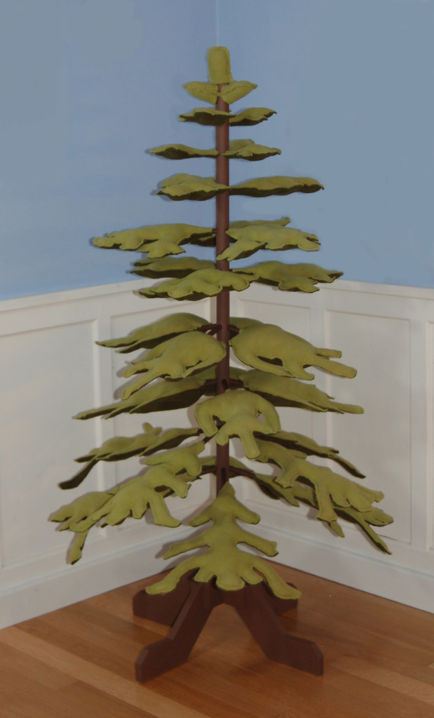 Christmas Tree Alternative.Eco Friendly Fleece Christmas Tree Alternative Here S This