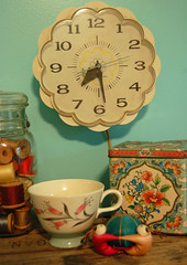 weekend find: new / old clock | by SouleMama