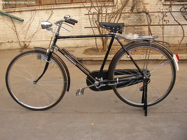 The Classic Tianjin Flying Pigeon Bicycle | Transportation f… | Flickr