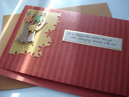 Custom Made Birthday Card For A Good Friend