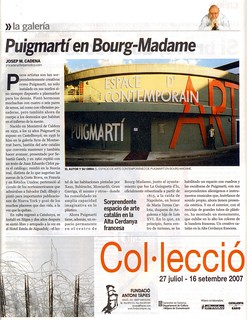 ARTICULO DE JOSEP M. CADENA EN REVISTA EXIT | by puigmarti