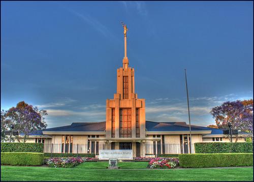 sunrise temple twilight sydney australia mormon jacaranda carlingford thechurchofjesuschristoflatterdaysaints ldschurch