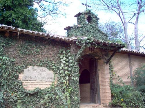 Fachada do Mosteiro da Anunciação