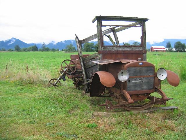 Rusty GMC Model K-16