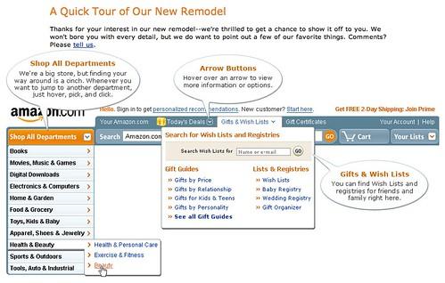 Amazon Redesign   by jasonEscapist